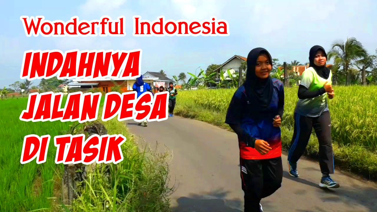 Indahnya Jalan Desa di Tasikmalaya Jawa Barat